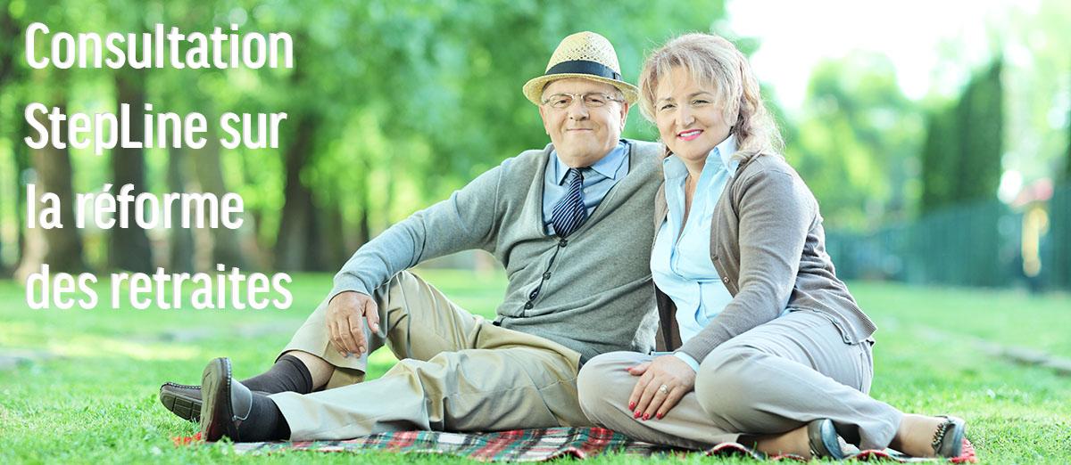 Permalien vers:Consultation sur les retraites